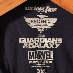 Marvel Shirts - Phoenix Comic Con Guardians of the Galaxy T-shirt